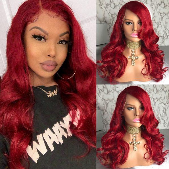 Redwine Body Wave 13×6 Lace Wigs (3)