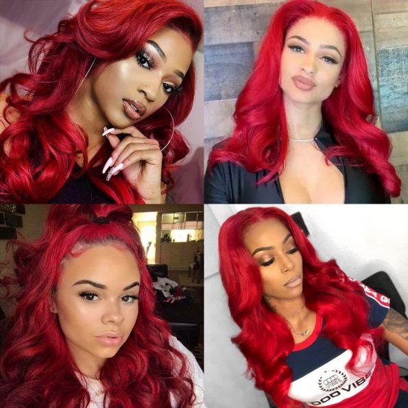 Redwine Body Wave 13×6 Lace Wigs (5)
