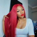 Redwine Color Straight 13×6 Lace Wigs (6)