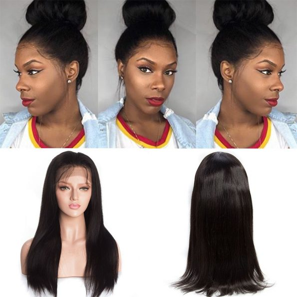 Straight 360 lace front Wigs
