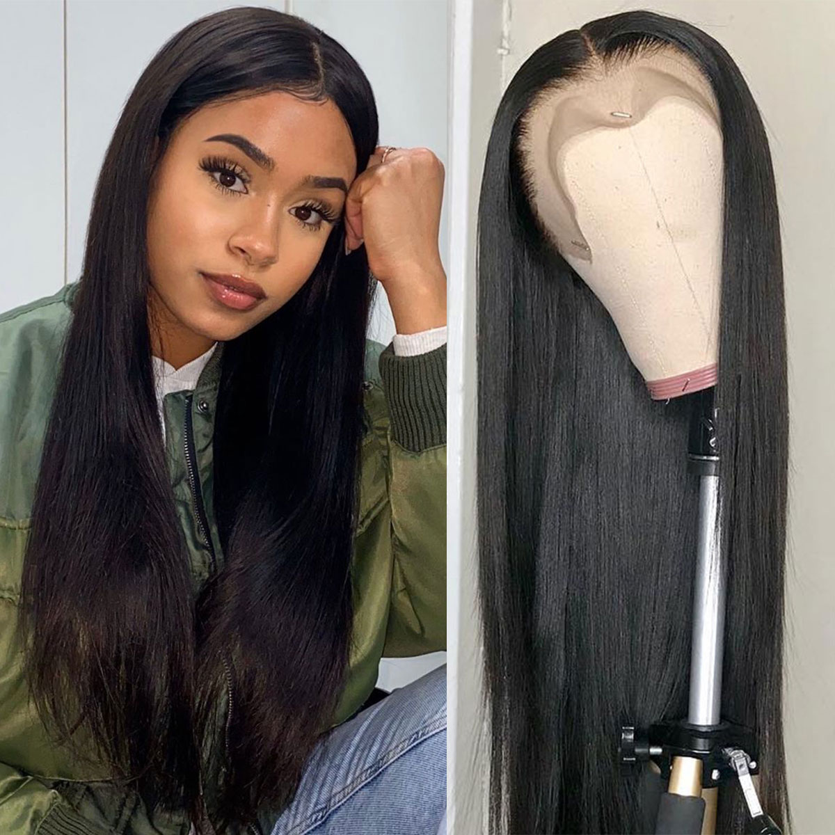 Straight Full Lace Wigs