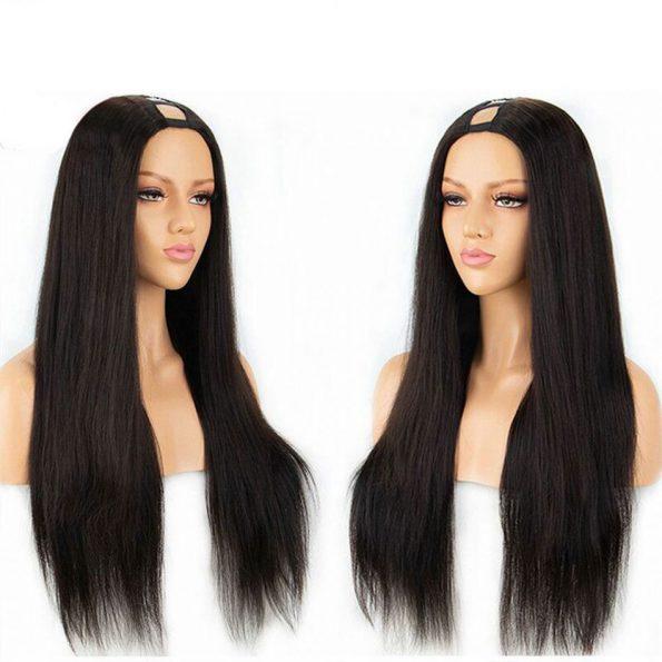 Straight Hair U Part Wig (1)