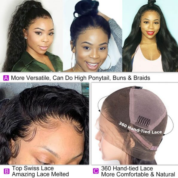 Water Wave Full Lace Wigs (4)