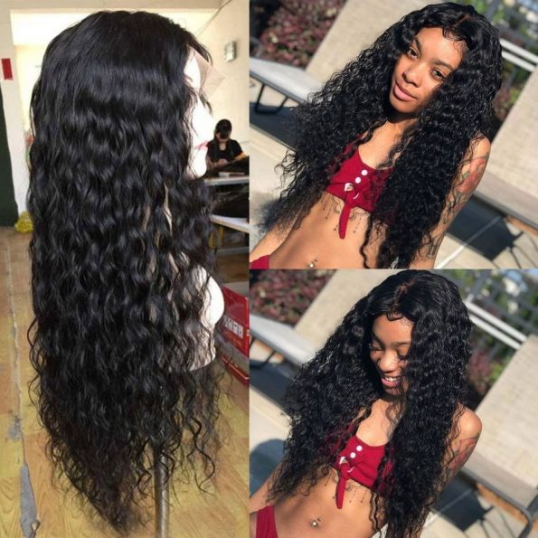 Water Wave Full Lace Wigs (5)