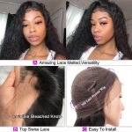 360 water wave lace front wig