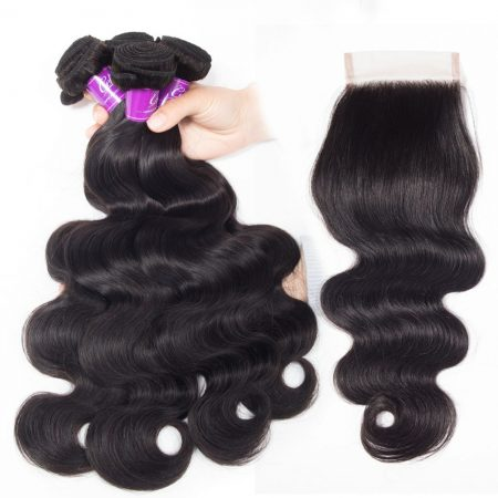 Body Wave 4 Bundles With Closure