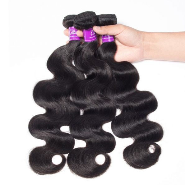 Body Wave 4 Bundles With Frontal