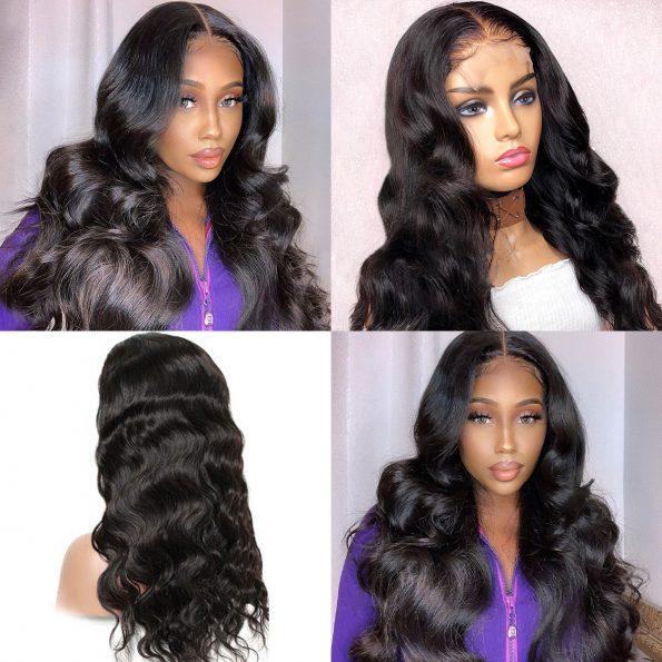 celie body wave 4×4 lace wigs 1