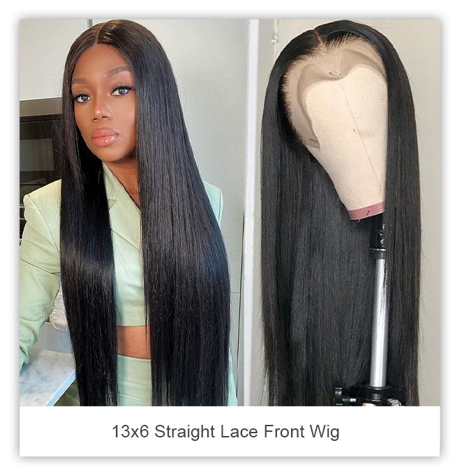celie hair 13x6 straight lace front wig