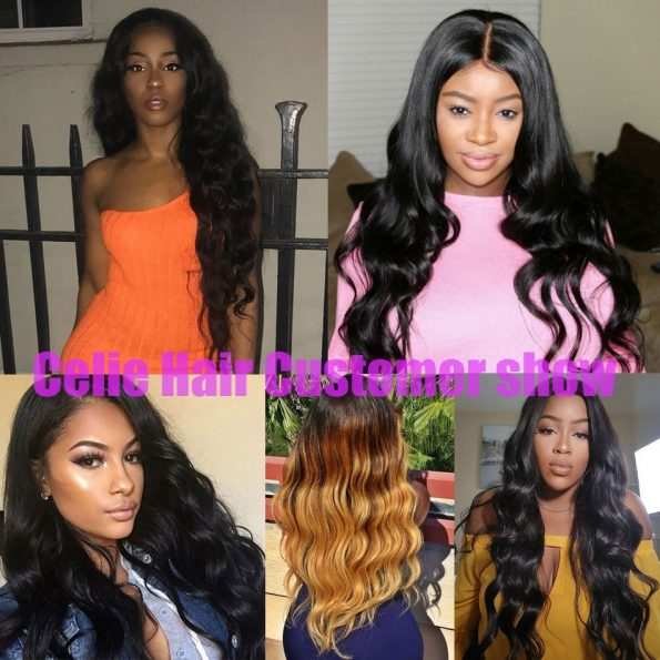 Body Wave 3 Bundles With Frontal