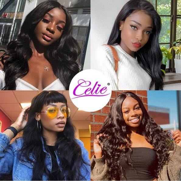 celie hair body wave show