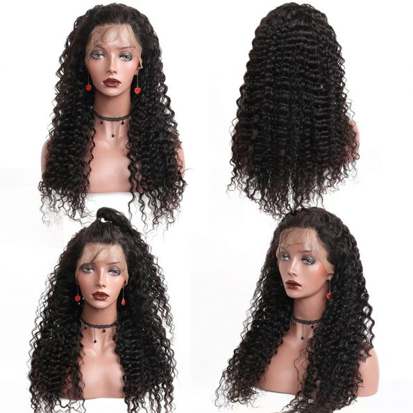 celie hair deep curly wave 360 lace wigs