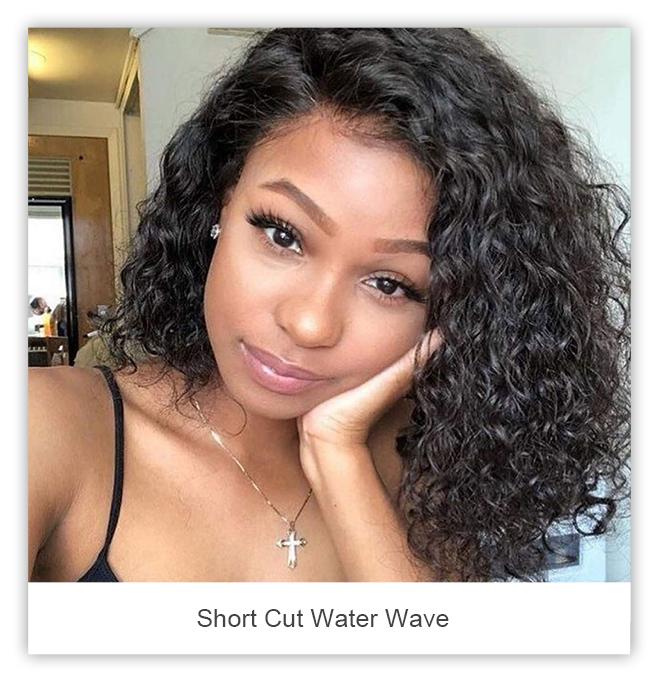celie hair short cut water wave
