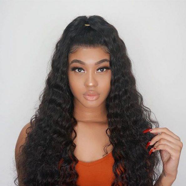 celie loose deep wave 6×6 lace wigs