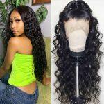 6×6 loose deep wave wig