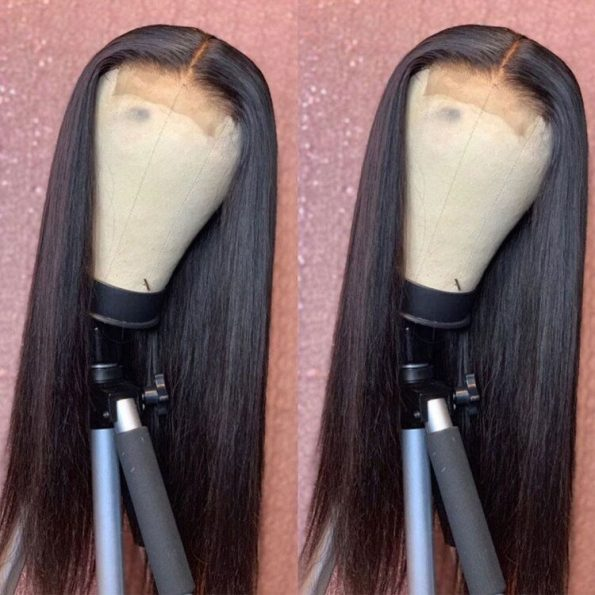 celie staight hair 4×4 lace wigs