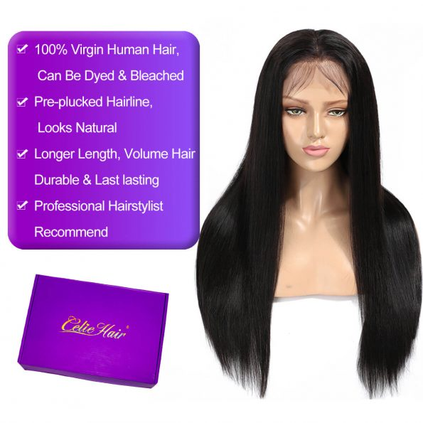 celie straight hair 6×6 Lace Closure Wig