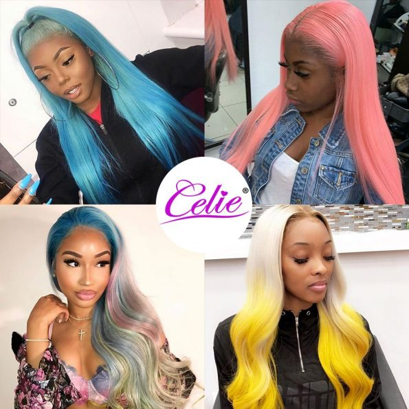613 Straight Hair 3 Bundles With Frontal