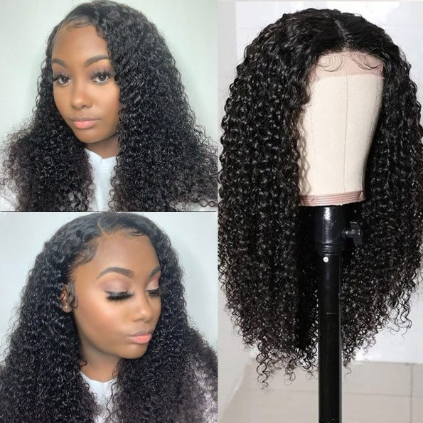 Curly 5×5 Lace Wigs