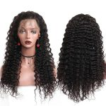 HD deep wave lace front wig