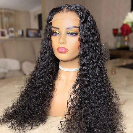 Deep Wave HD Lace Closure Wigs