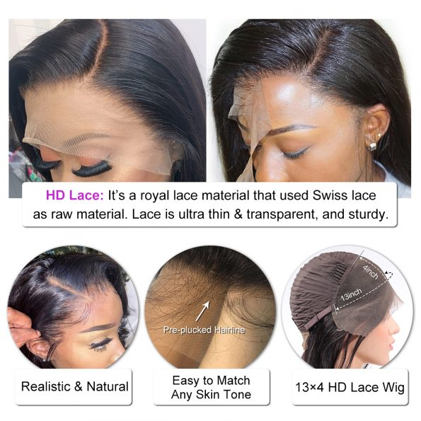 Deep Wave HD 13×4 Lace Front Wig