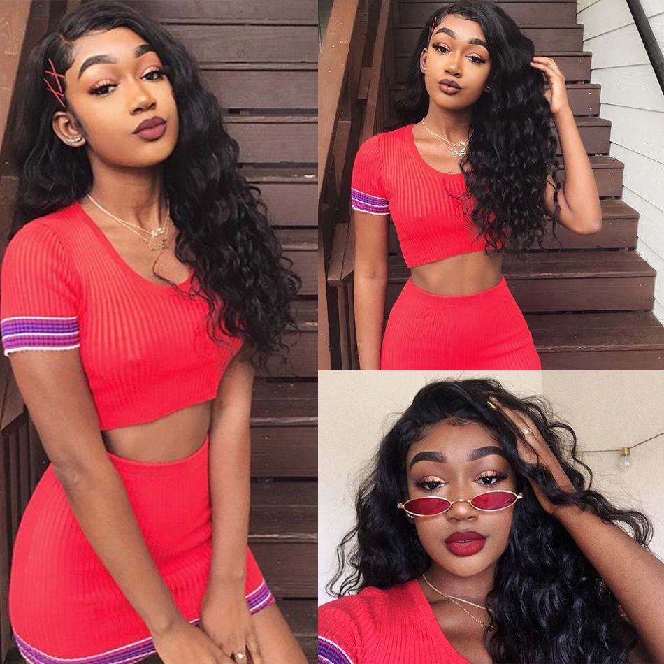 Loose Deep 13x4 Lace Front Wig