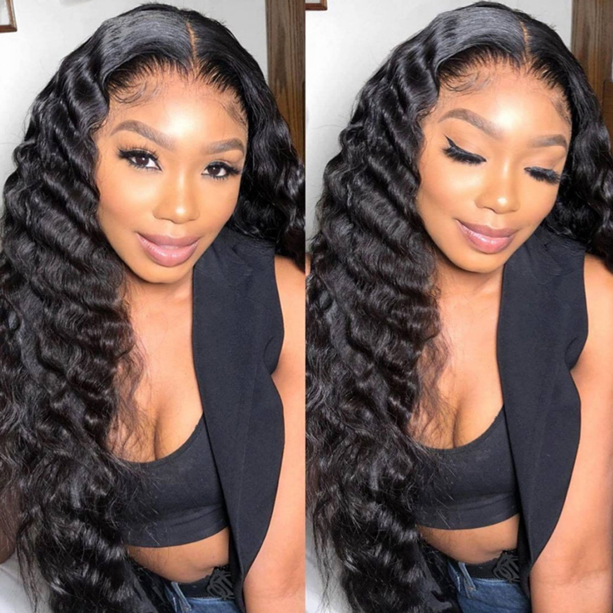 Loose Deep HD 13x4 Lace Front Wig
