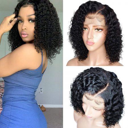 short cut curly wig