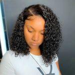 short cut curly wig729