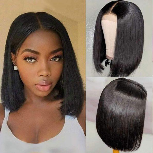 straight bob wig (2)