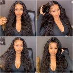 13×4 water wave lace front wig