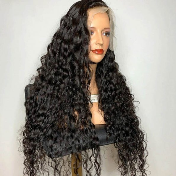 water wave lace frontal wig 3