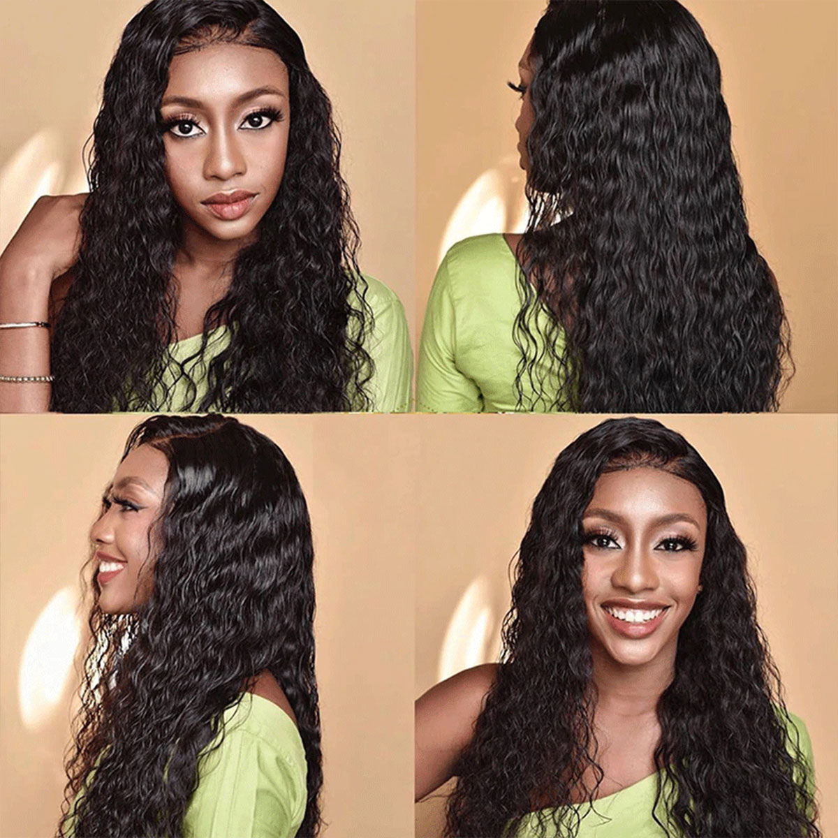 Water Wave 5x5 Lace Wigs