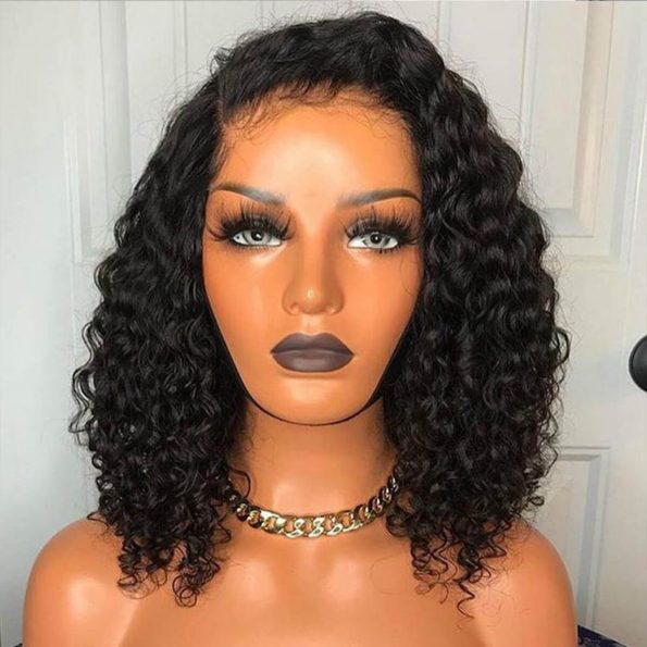 short deep wave wig