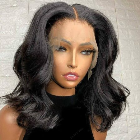 Short Body Wave Lace Front Wig