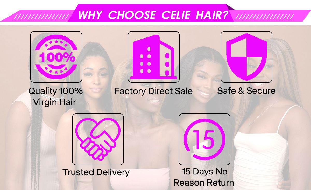 celie hair lace front wigs description